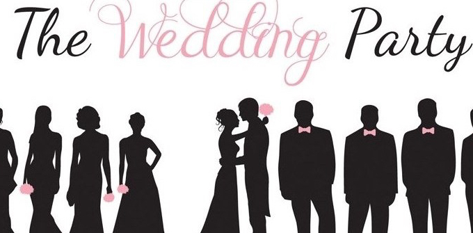 Stunning Wedding Party Silhouette Clip Art Contemporary